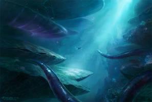 Exploring Underwater by MartaNael