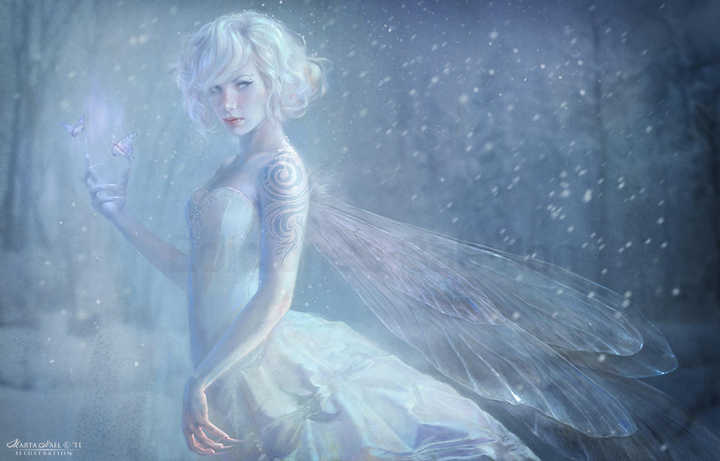 White Fairy by MartaNael