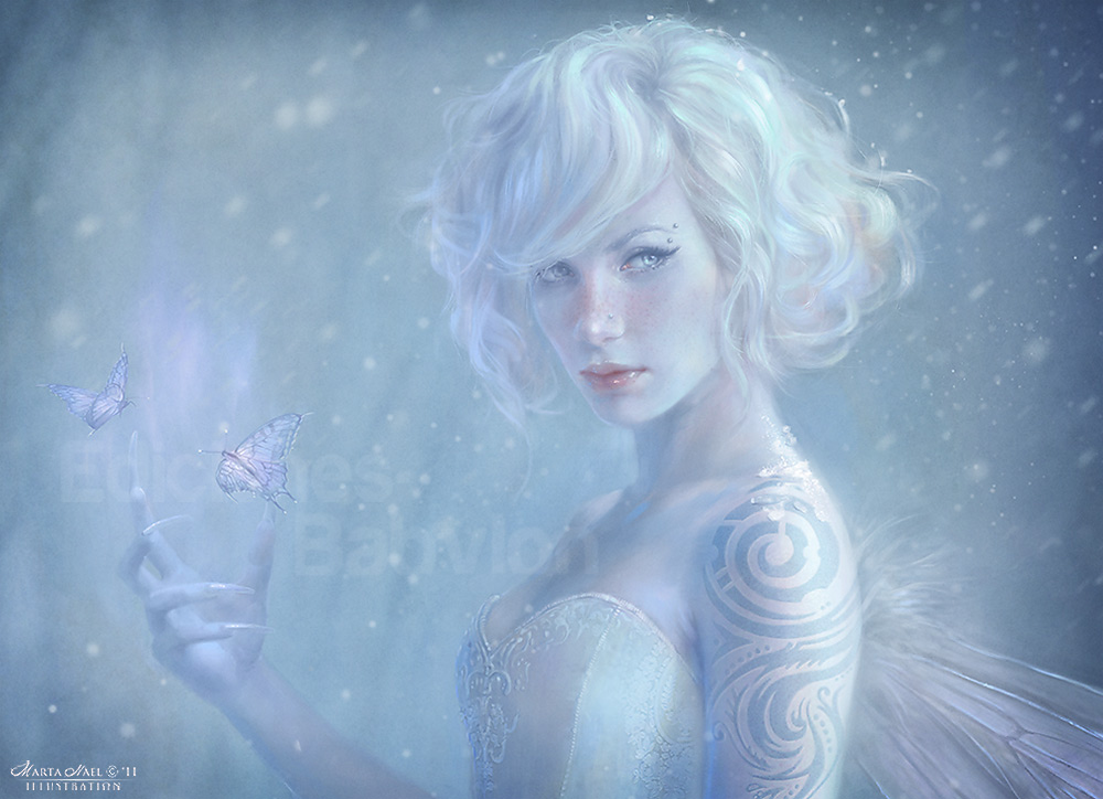 White Fairy - Detail by MartaNael on DeviantArt