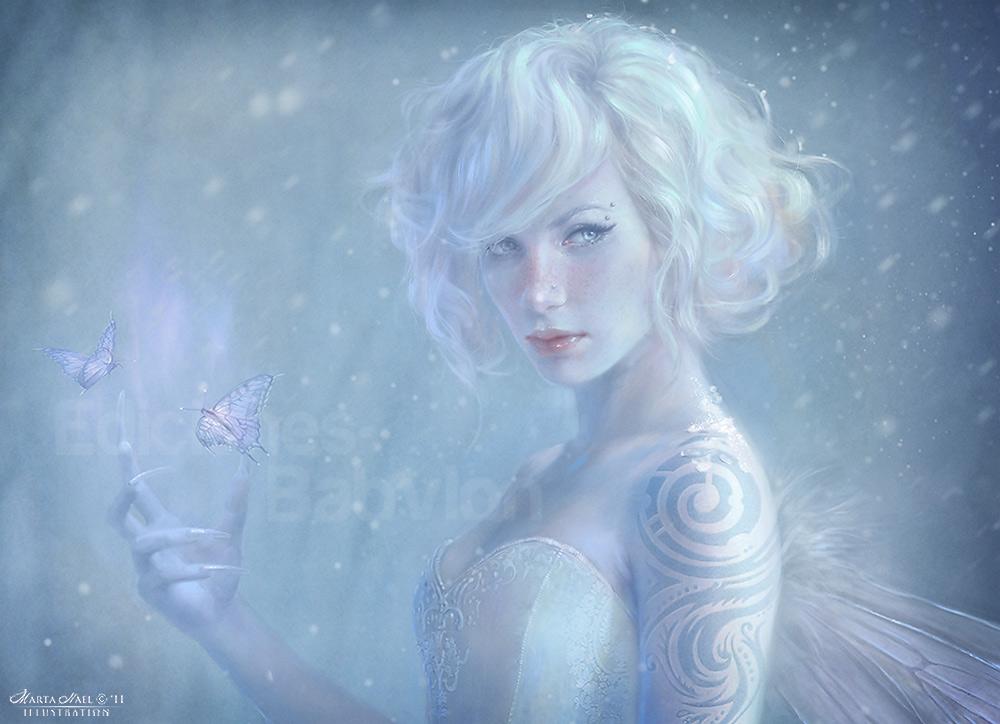 White Fairy - Detail by MartaNael on DeviantArt