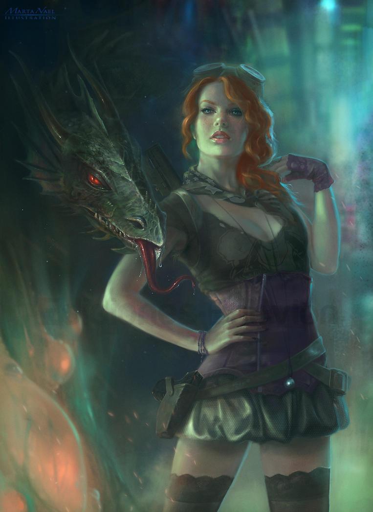 Postapocalyptic Fantasy by MartaNael