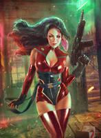 Latex Heroine by MartaNael