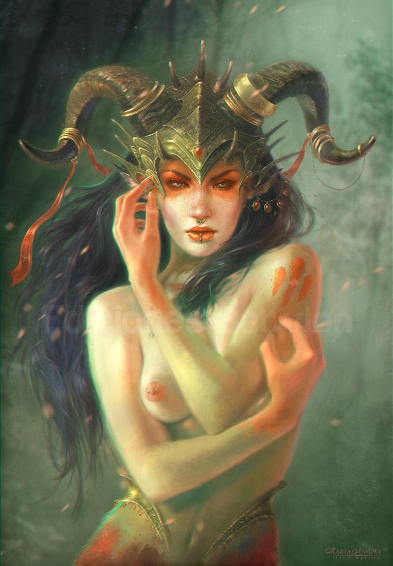 Female Pan Queen by MartaNael