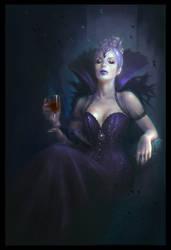Raven Queen by MartaNael