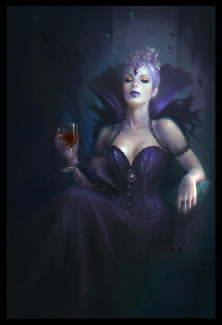 Raven Queen by MartaNael