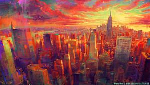 New York Impressionism by MartaNael