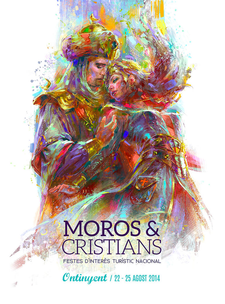 MOORS AND CHRISTIANS ONTINYENT by MartaNael