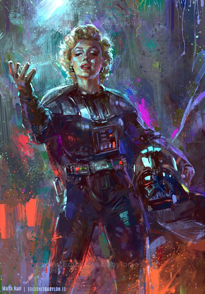 Darth Monroe by MartaNael