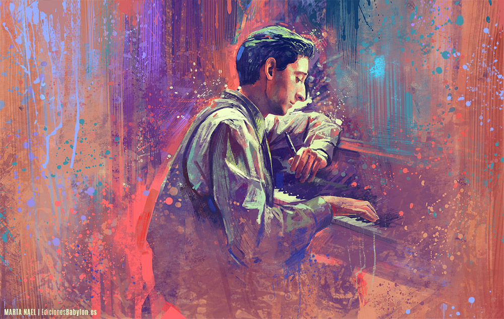 The pianist by MartaNael