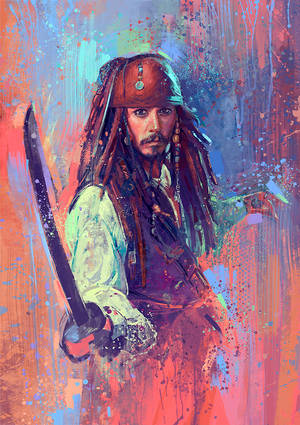 Captain Jack Sparrow by MartaNael