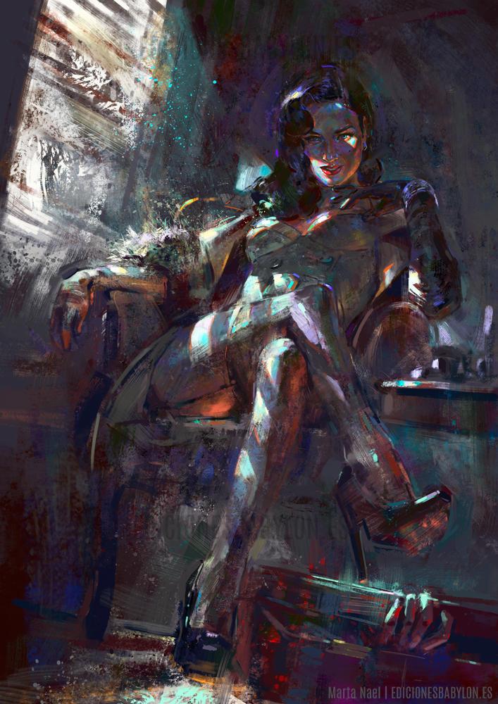 Black Widow by MartaNael