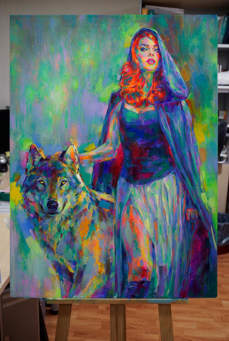 Blue Riding Hood