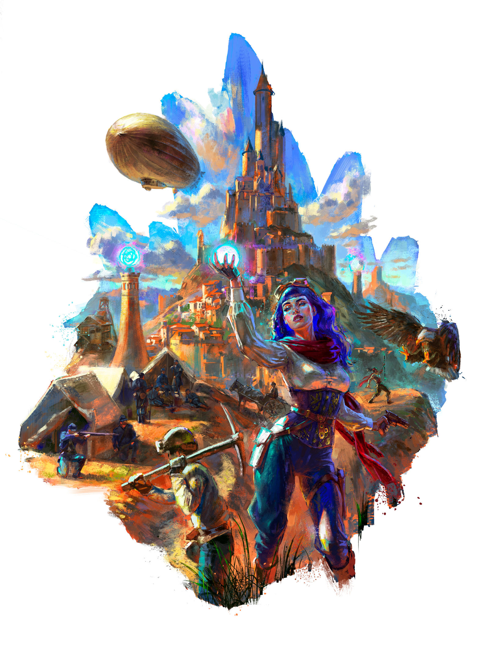 BOREAL GAMES - Promo illustration