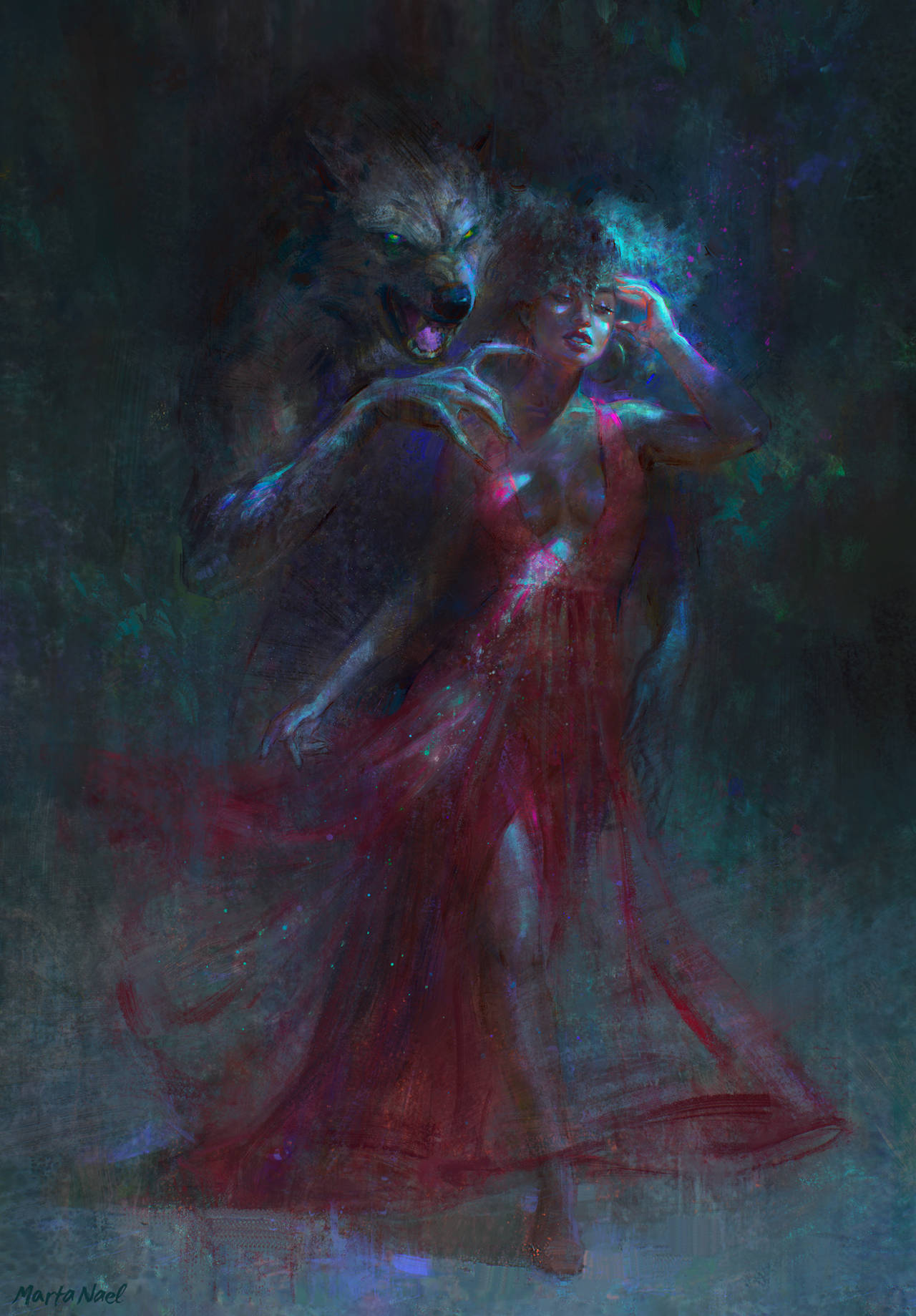 Night Creatures cover by MartaNael