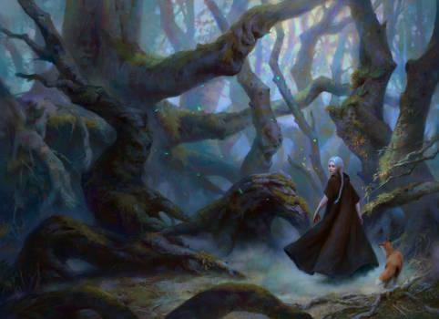 Espina plateada y el bosque de los susurros Cover