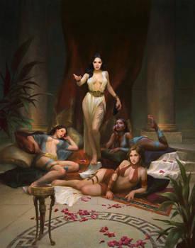 Mortal's reckoning - Korvina and assassins