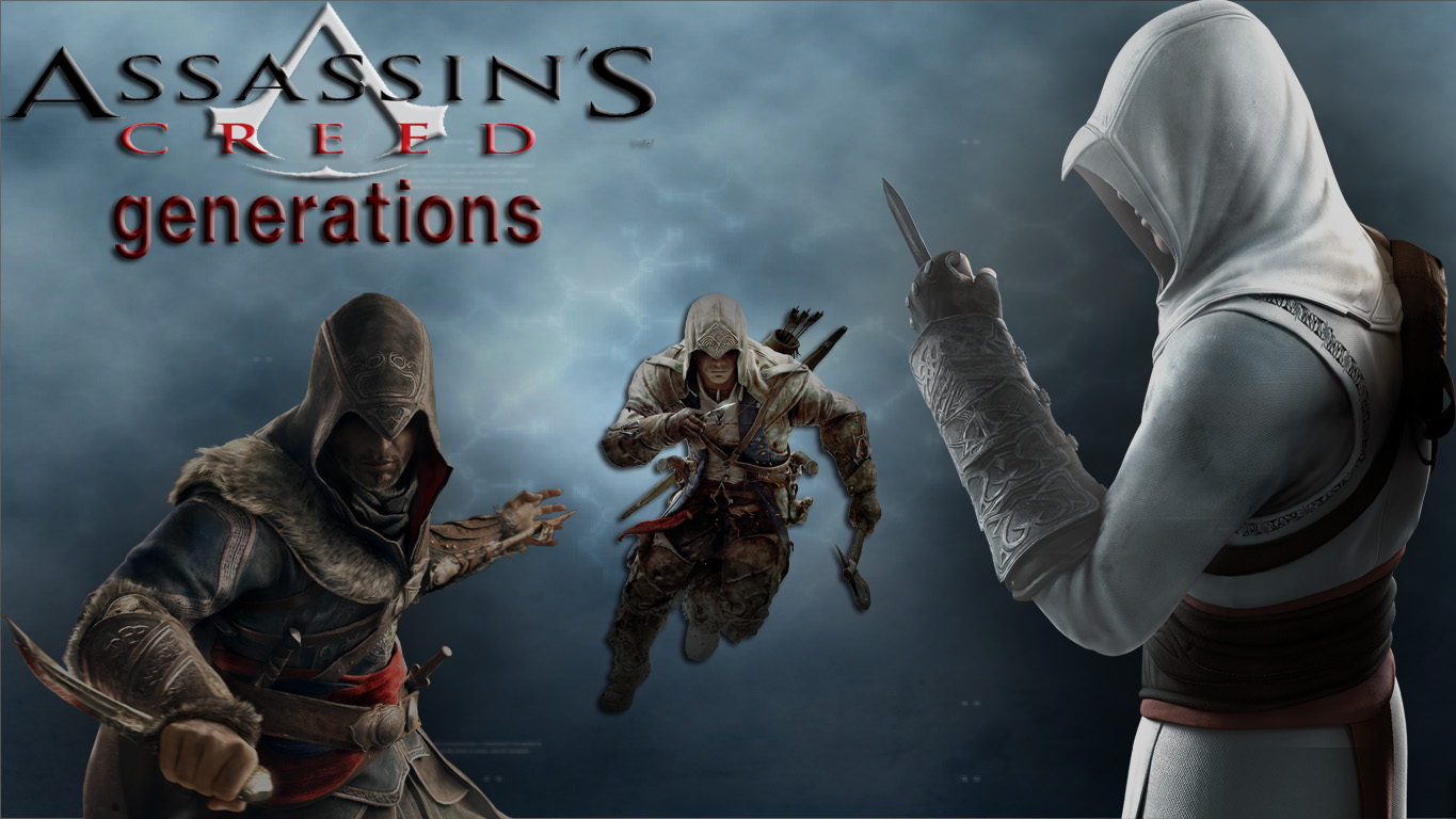 assassin's creed generations by brazilking