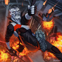Cool guys don't look at explosions by Lurelin