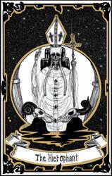 Tarot | V - The Hierophant by LittleGoa-t