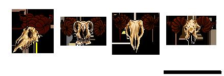 Pixels: Goat Skull by LittleGoa-t