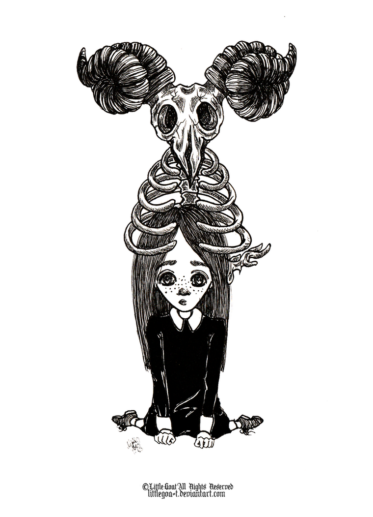 Satiros and Pandora by LittleGoa-t