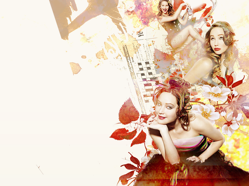 Jennifer Lawrence @Wallpaper by SuiBlueSheep