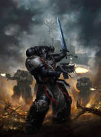 Black Templar01 by CarnalitySermon