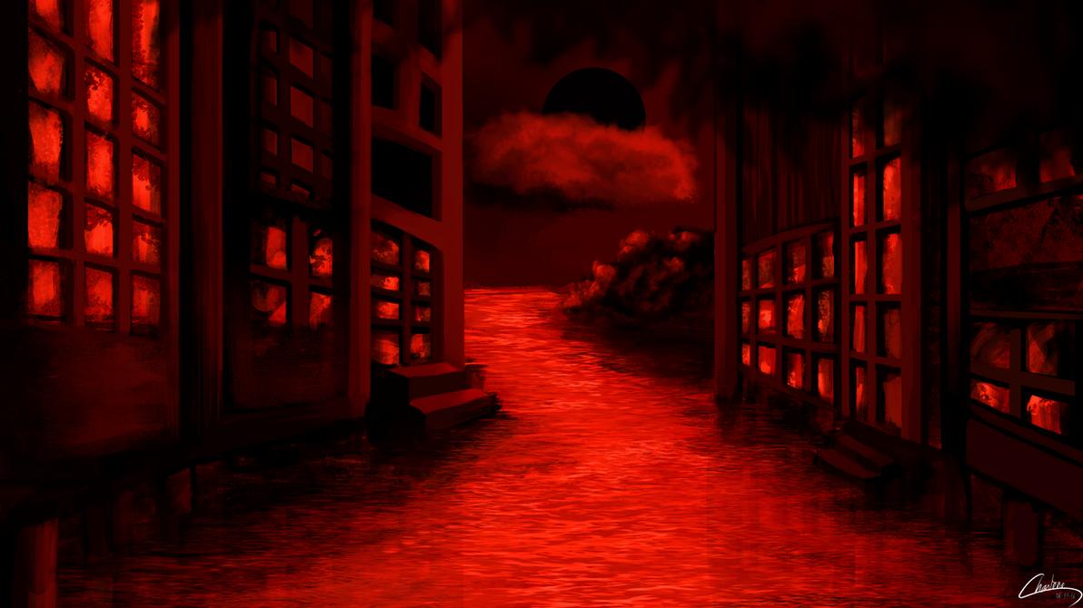 Red Perception by Deezchana