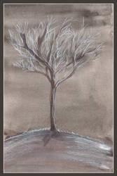 winter tree by dieroteiris