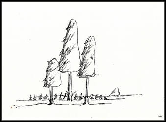 Mushrooms or Trees? by dieroteiris