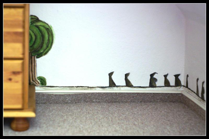 Anderswelt  - the Dwarves on their way to Mirkwood by dieroteiris