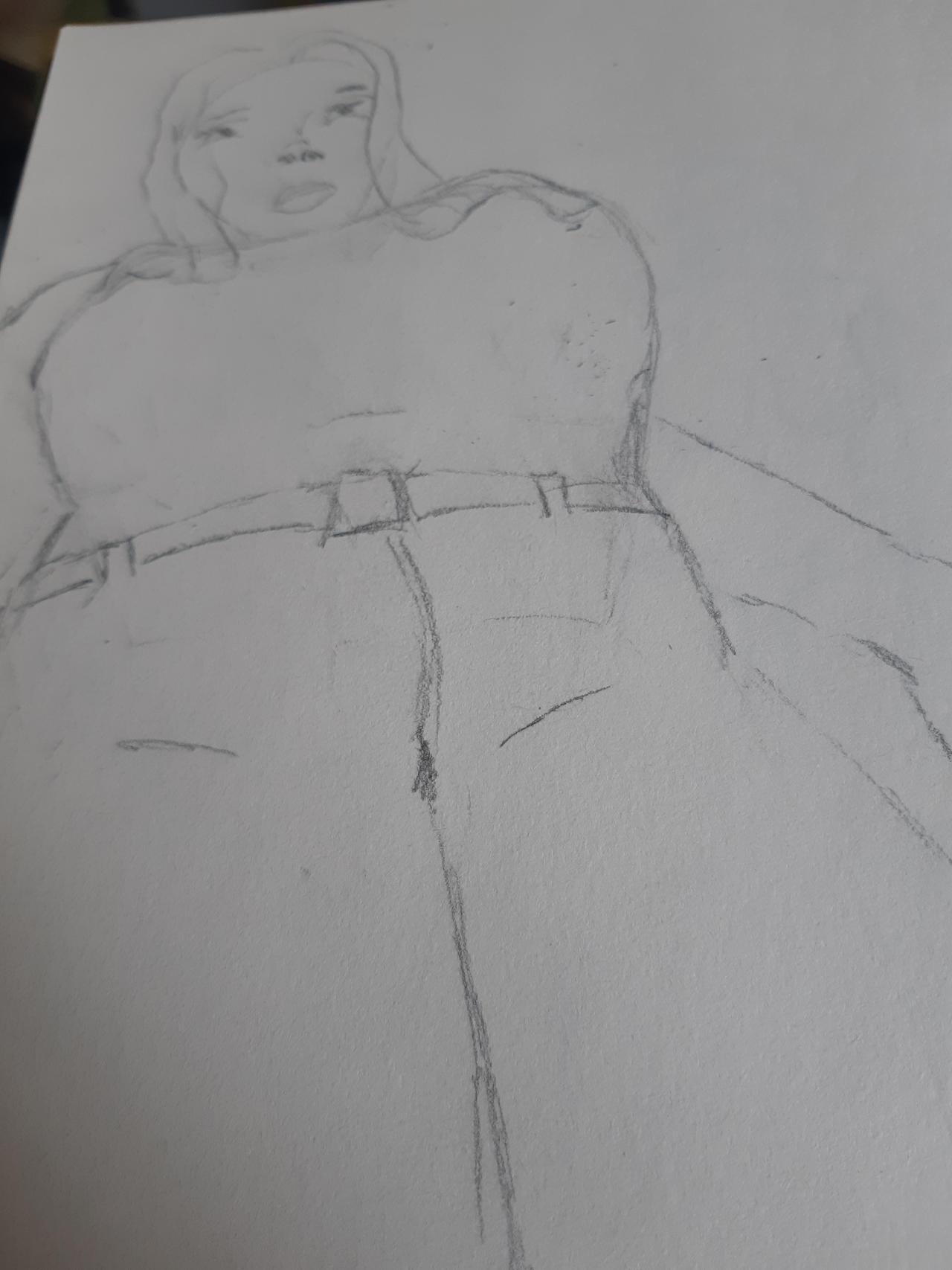 Sketch - Giant Woman