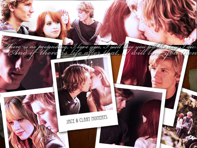 Jace and Clary- Mortal Moments by bluesthour