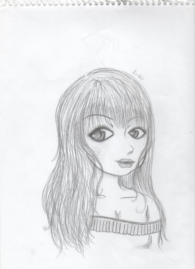 New drawing style by everythingisfalling on deviantart for Modern drawing styles