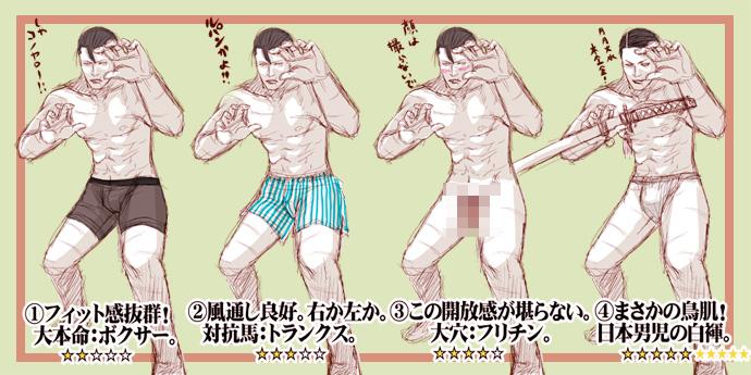 His underwear? by masaero