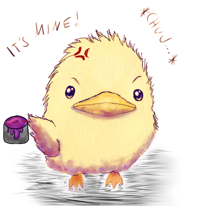 It's mine! D: by Tsuyaya