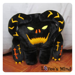 Cuddly Balrog!! -Front- by LoreaLopez