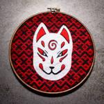 Kitsune rojo. by LoreaLopez