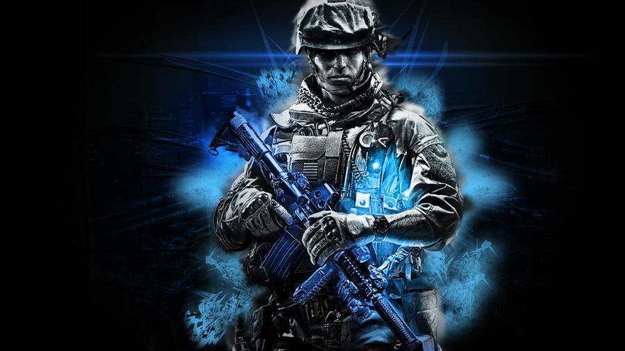 Battlefield Soldier by Cazuar