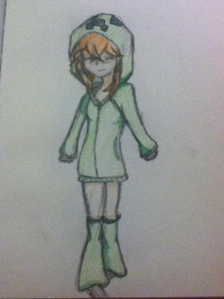 Creeper girl by cicialexa on deviantart - Creeper anime girl ...