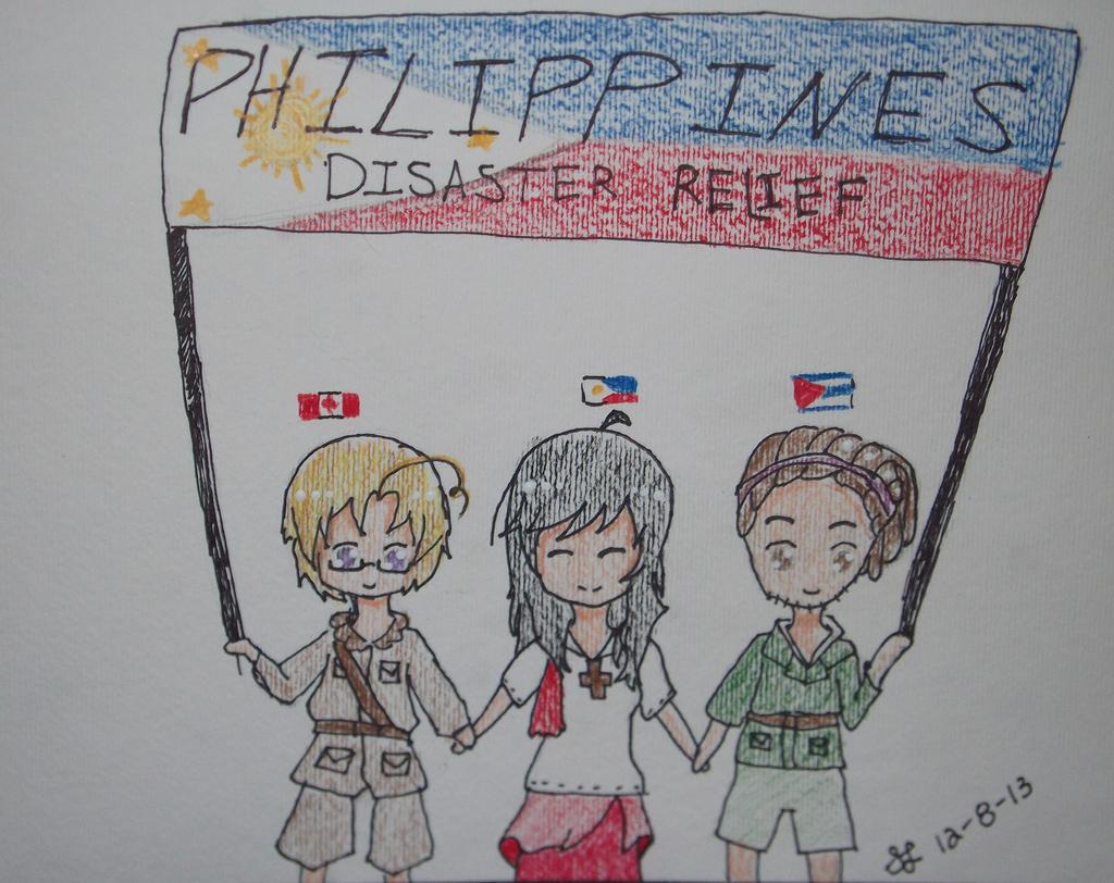Philippines Disaster Relief (Hetalia) by cicialexa
