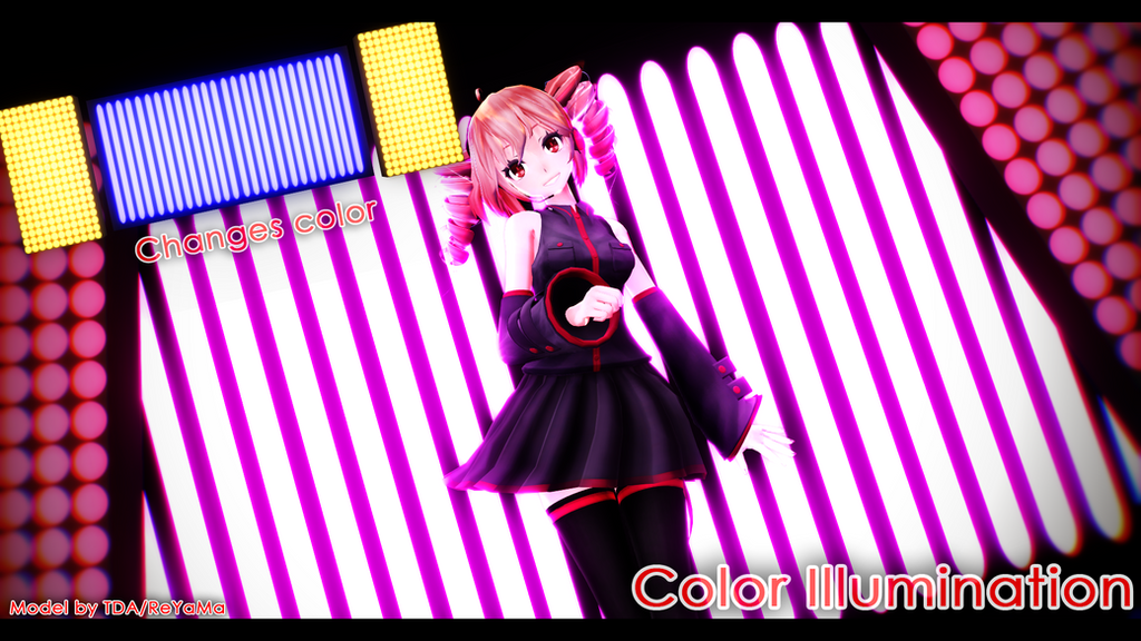 Color Illumination .-+Stage DL+-. by FBandCC