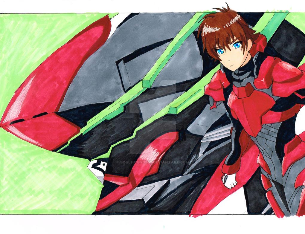 Valvrave VVV and Haruto Tokishima by SoulHound568