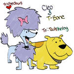 Clifford - Cleo and T-Bone
