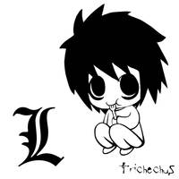 Death Note - L by Trichechus