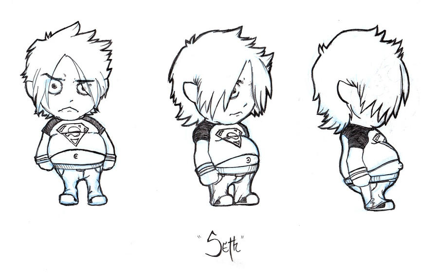 Character Design Side View : View character design by hybridg on deviantart