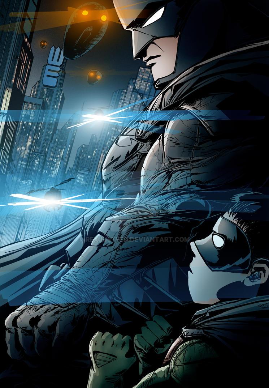 Batman: Legal Guardian by RexJustFed