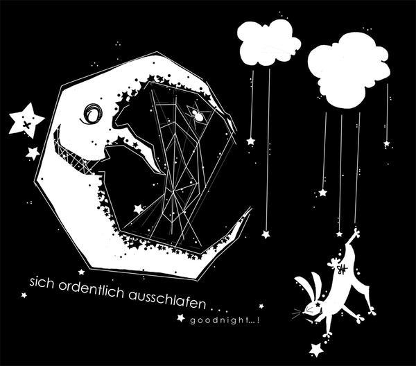 Good night moon bunny design by shirononekojin on deviantart for Goodnight moon tattoos