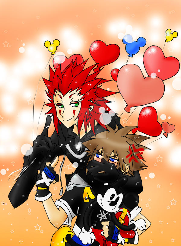 Axel Sora - Heart Stalkers by shirononekojin