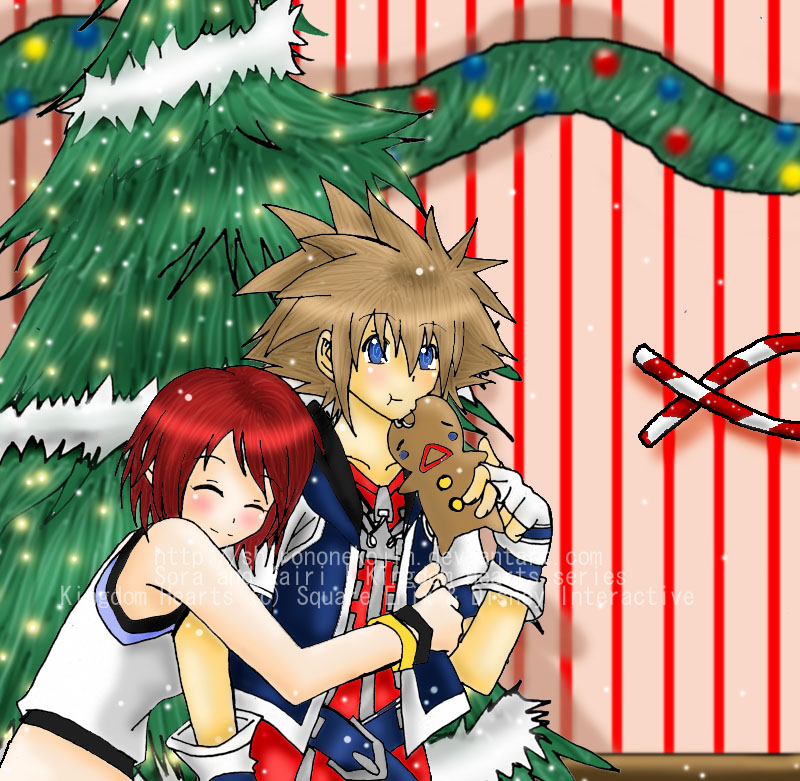 Kingdom Hearts Christmas Kairi